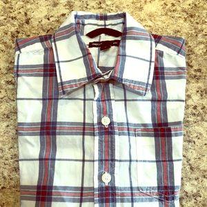 GapKids Boys Plaid Shirt